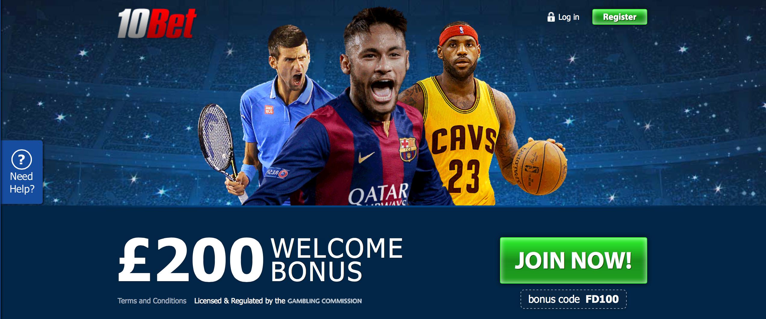 10Bet-Free-Bet