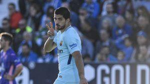 Луис Суарес, Леганес 0:3 Барселона, 18 ноября 2017