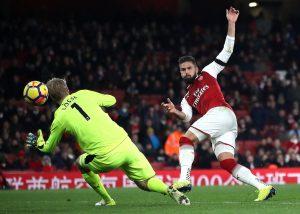 Жиру, Арсенал 5:0 Хаддерсфилд, 29 ноября 2017