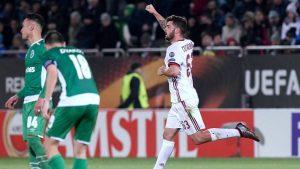 Патрик Кутроне, Лудогорец 0:3 Милан, 15 февраля 2018