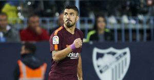 Луис Суарез, Малага 0:2 Барселона, 10 марта 2018